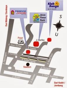Lokasi JTP 1