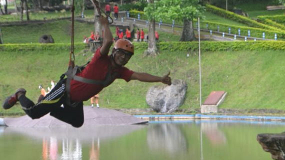 Wahana outbound di malang