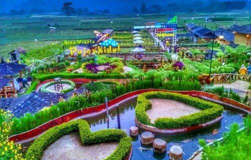 Wisata Cafe Sawah Pujon Kidul yang menarik